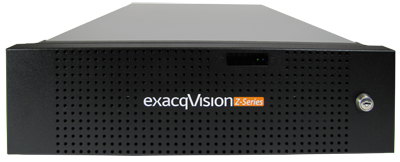 exacqVision Z-Series 3U Hybrid