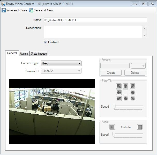 exacqVision Software House Integration