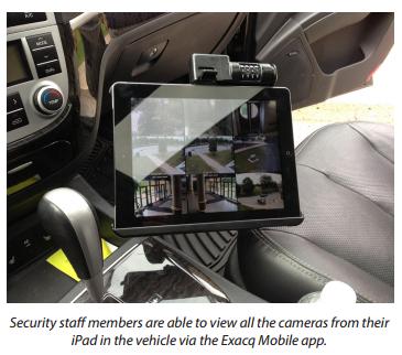 iPad in Ridley College Patrol Car
