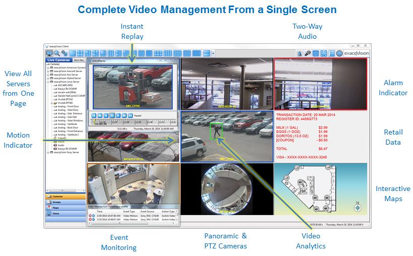 exacqVision Pro VMS