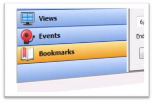 Bookmark menu