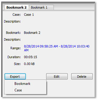 bookmark export