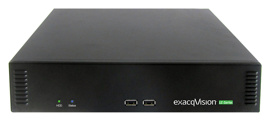 exacqVision-LC-Series video recorder