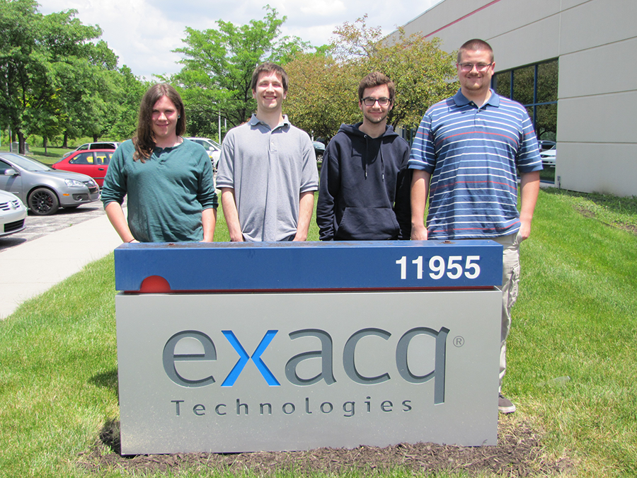 Exacq Interns On The Line
