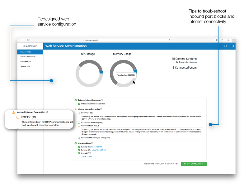 exacqVision 7 8 Release Enables Direct Archive Search and Introduces
