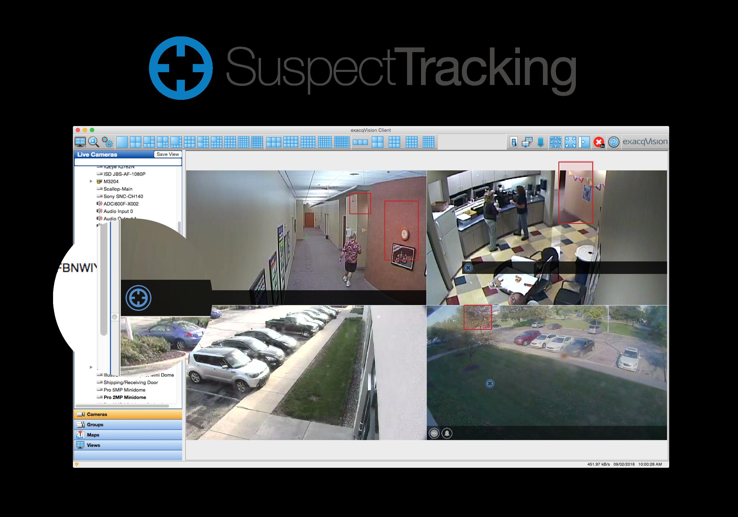 Exacq Suspect Tracking