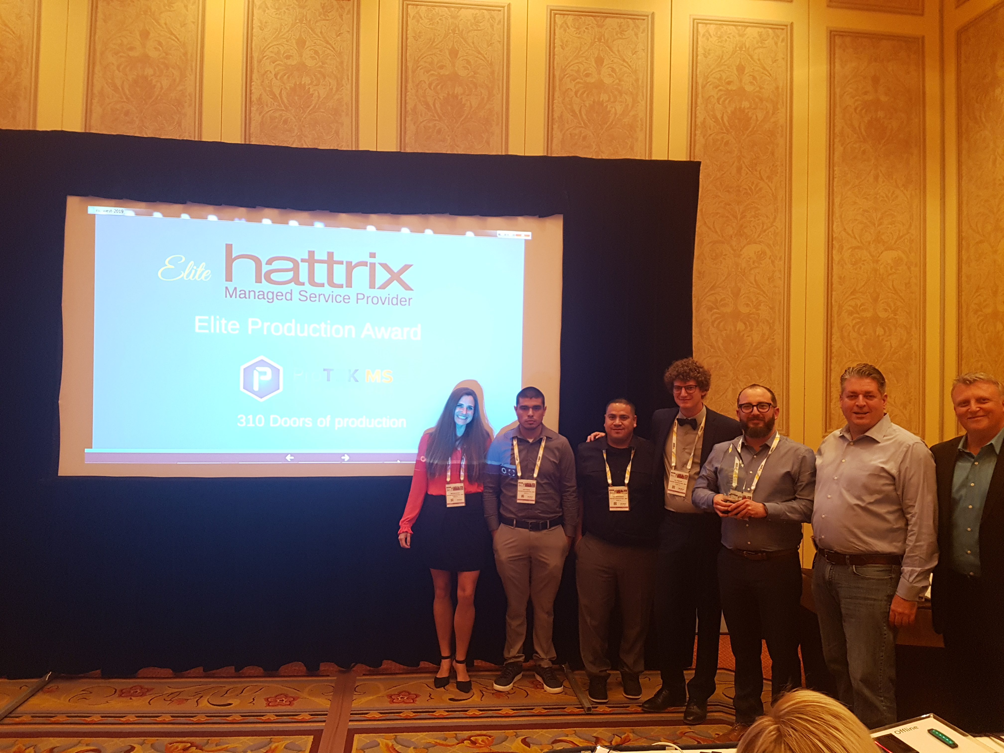 hattrix msp roundtable awards recognition isc west 2019 kantech access control. Black Bedroom Furniture Sets. Home Design Ideas