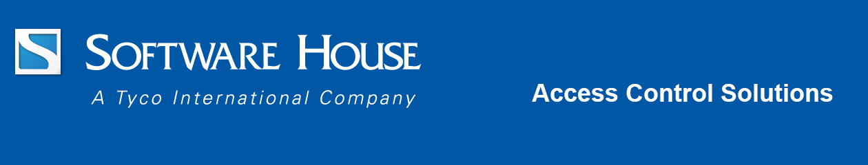 Software House Access Control Security Solutions | Software